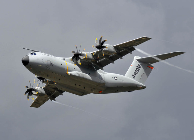 First flight of the Airbus A400M
