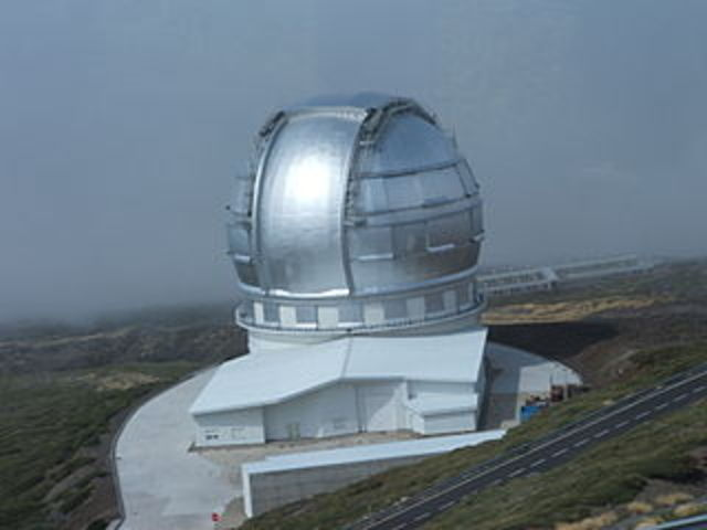 The largest telescope to date is built
