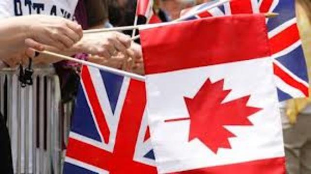 La Grande-Bretagne support les colons d'etre plus autonomes.