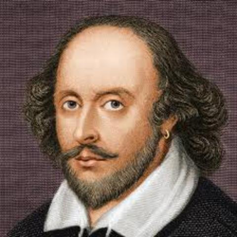 William Shakespear is Born