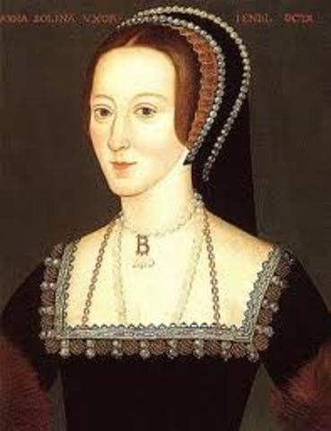 Anne Bolyn is Born
