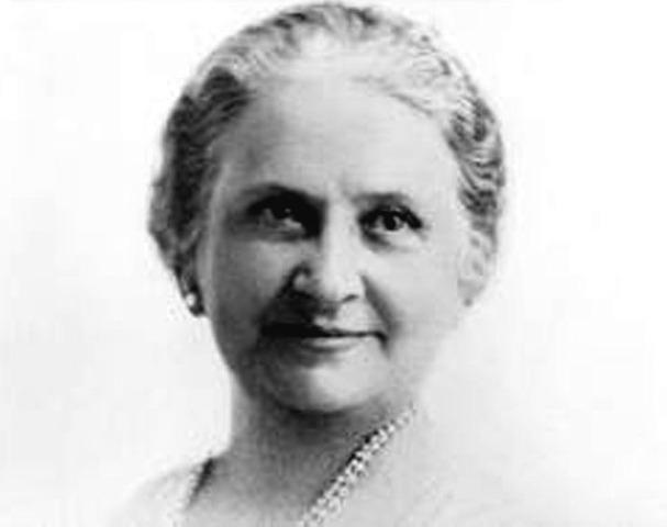 Maria Montessori: 1870- 1952