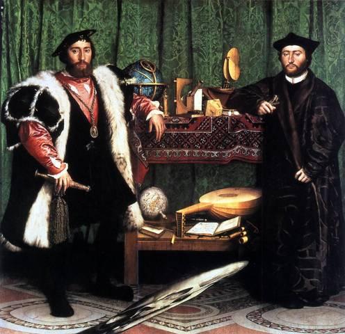 Hans Holbein le Jeune - Les ambassadeurs