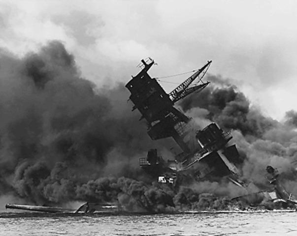 USA förklarar krig mot Japan