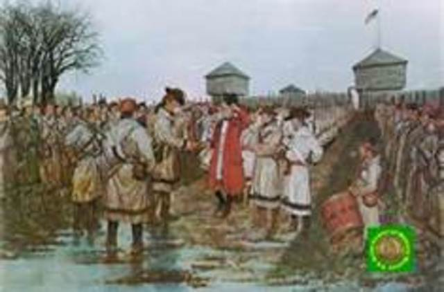 American victory at the Battle of Vincennes