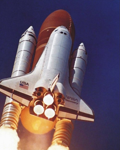 The Hubble is Launched