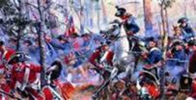 American victory at the Battle of Cowpens, SC