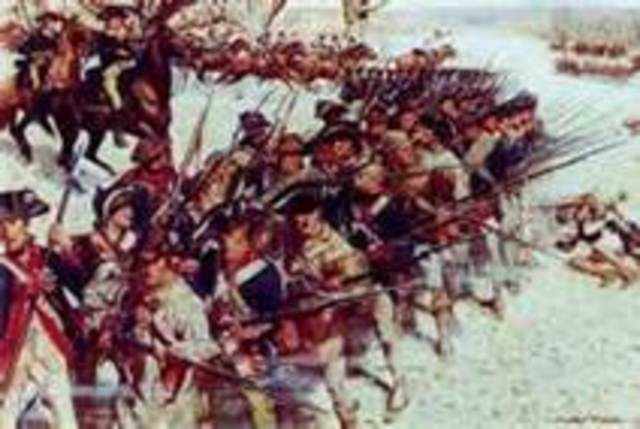 British victory at the Battle of Guilford Courthouse, NC