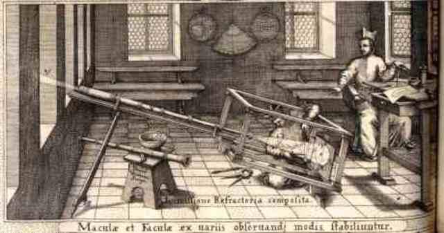 Modern Astronomical telescope