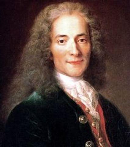 Voltaire publishes Candide
