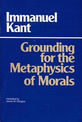 Kant publishes Groundwork for the Metaphysics of Morals