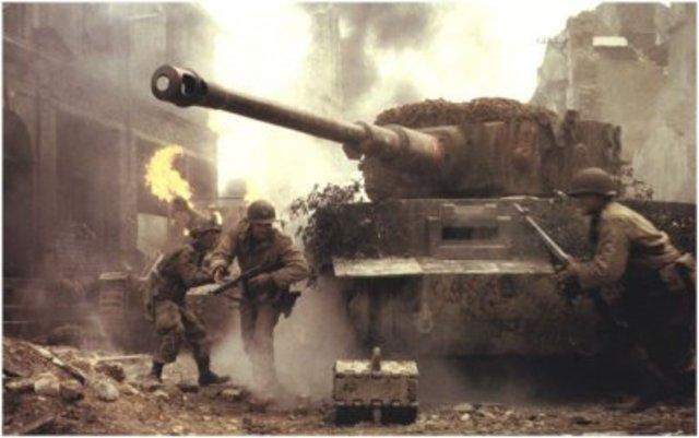 De Duitsers vallen nederland binnen