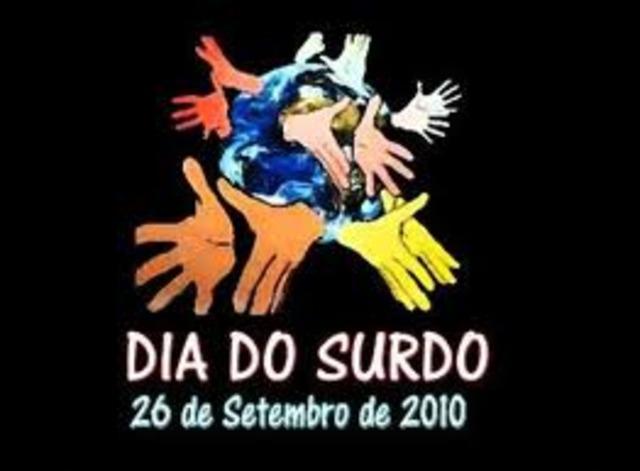 DIA NACIONAL DO SURDO