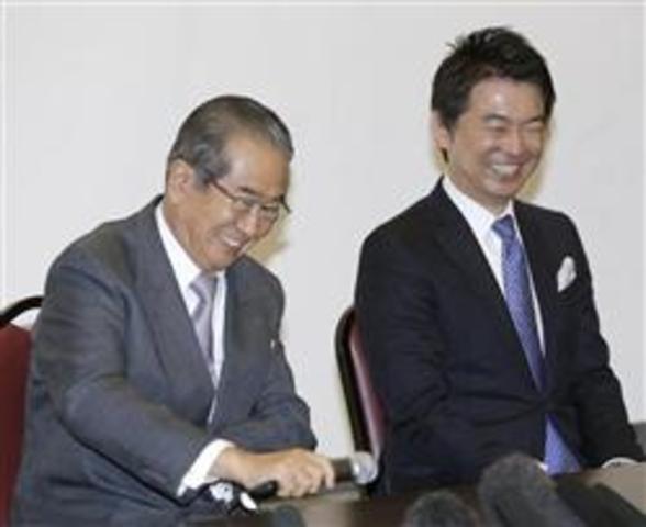 Shintaro Ishihara joined the Osaka Restoration Association