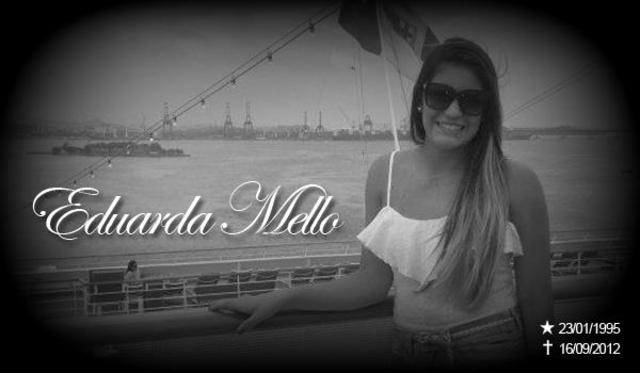 Perda da amiga e ginasta Eduarda Mello