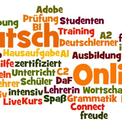 Deutsch Online Netzwerk timeline