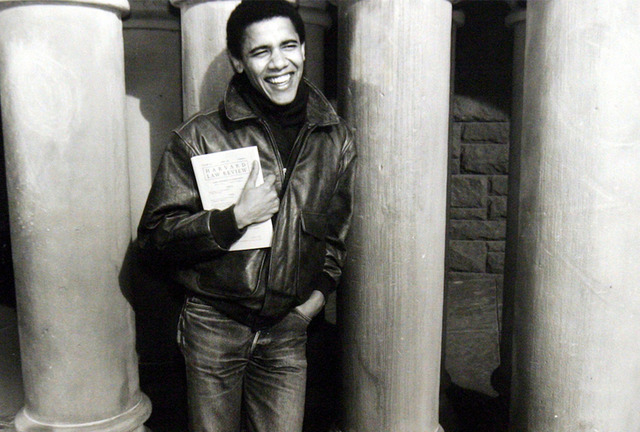 Obama Becomes First Black President of Harvard Law Review