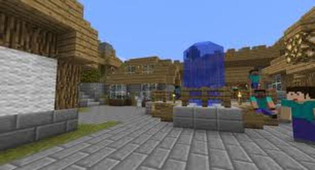 I found a friendly  village
