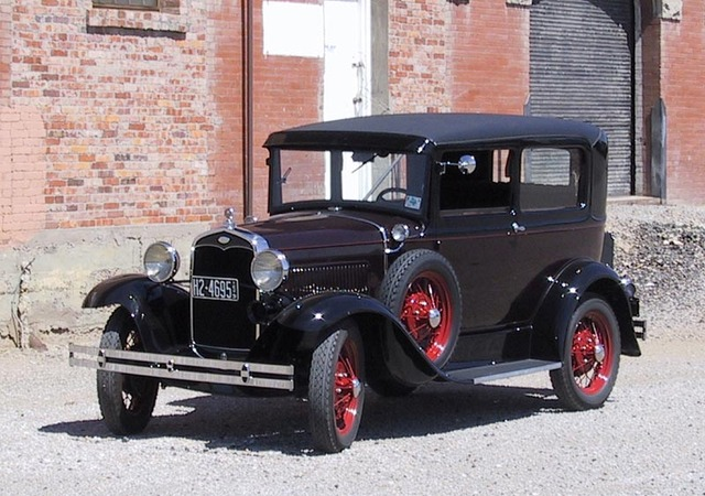Introduction of Henry Ford's Model A