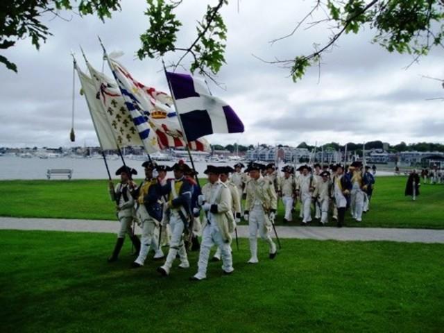 The British Surrender at Yorktown