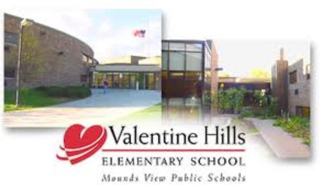 J'ai commencé la 5e année à valentine hills