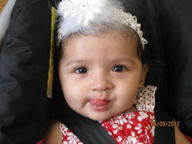 Mon nièce est née