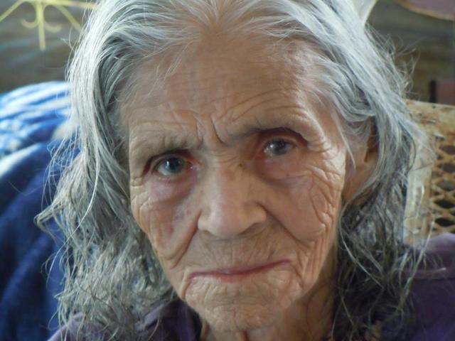 Mon grand-Mère mort