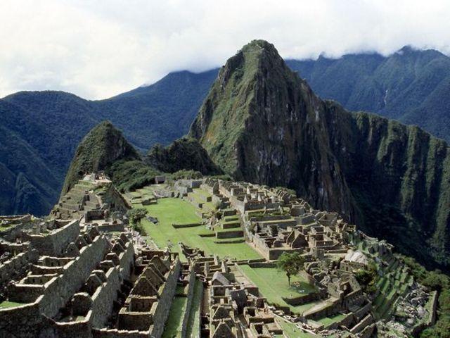 Machu Pichu is started