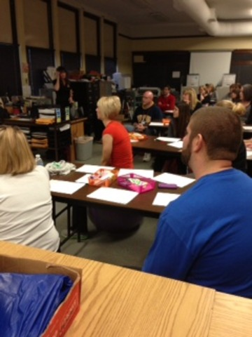 Movement in the Classroom In-service at BSMS