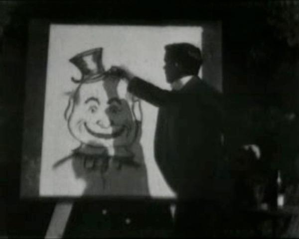 J. Stuart Blackton Directs Humorous Phases of Funny Faces
