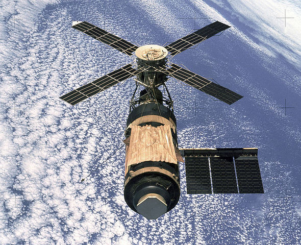 American's First space Station