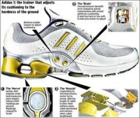 Zapatos con microprocesador