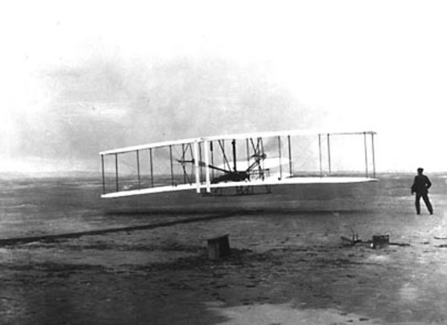 The Wright Brothers' First Flight Occured
