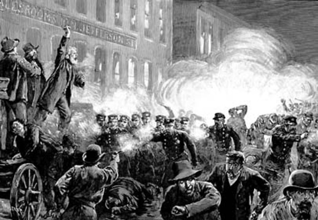 The Haymarket Square Riot Occurred In Chicago, Illinois