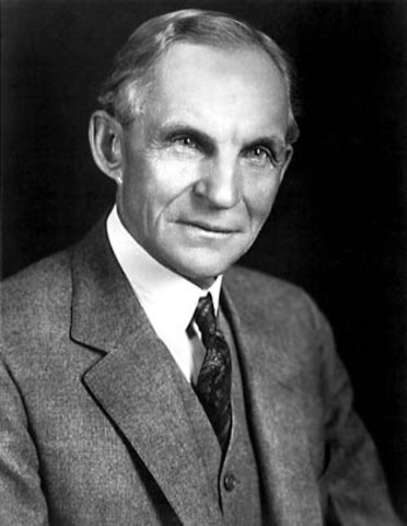 Henry Ford forms the Ford Motor Company