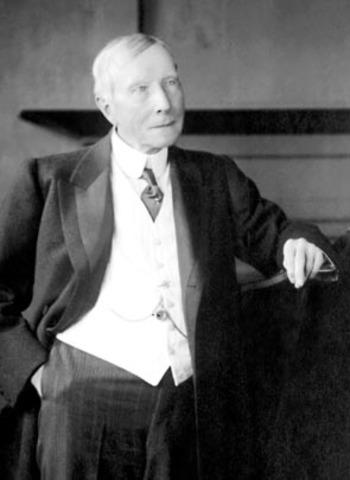 John D. Rockefeller Formed A Partnership With Maurice B. Clark