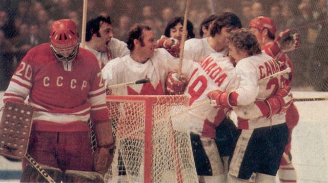 Confrontation d'Hockey