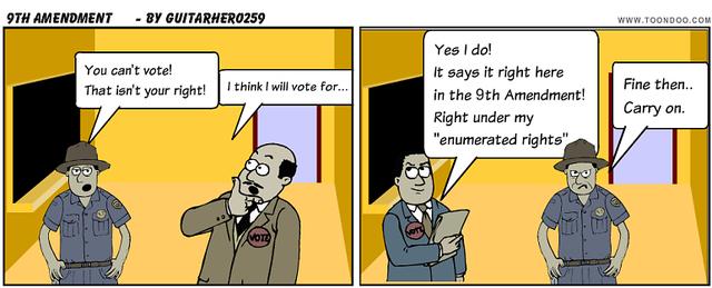 the nineth amendment