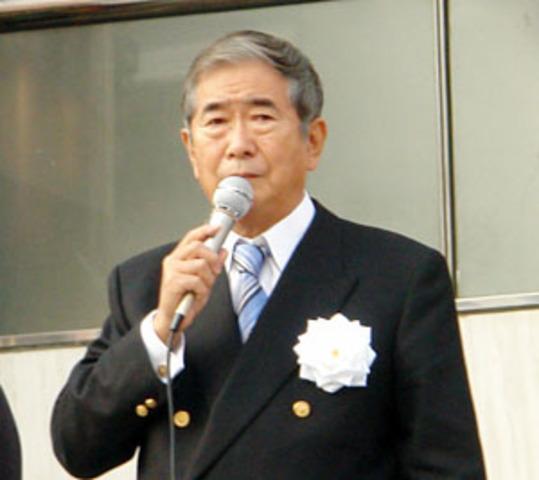 Ishihara's resignation
