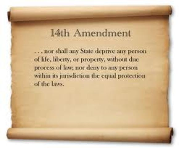 Amendment 14- Civil Rights