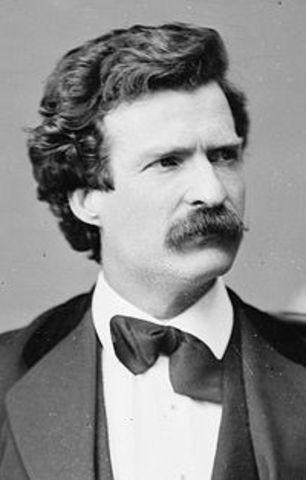 Mr. Mark Twain November 30, 1835 – April 21, 1910