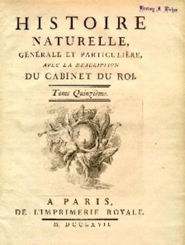 Georges: Histoire Naturelle .