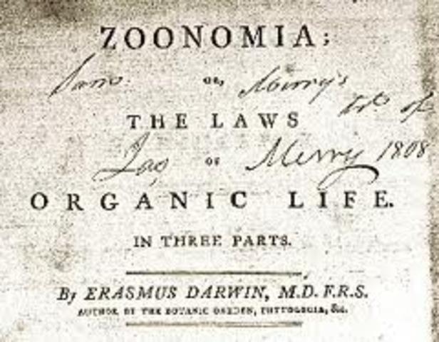 Zoonomia (Influenced)