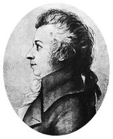 Mozart died