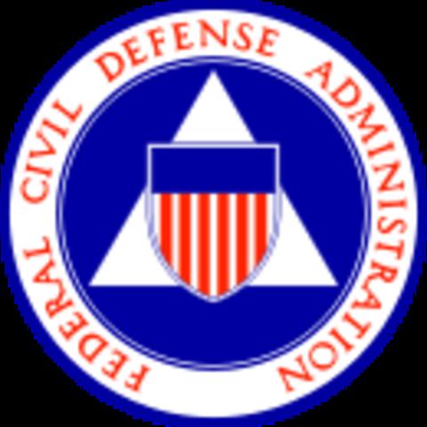 Federal Civil Defense Administration established