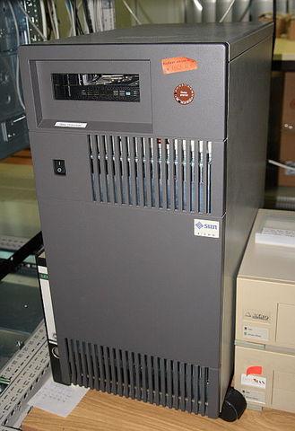 Primera estación de trabajo basada en SPARC
