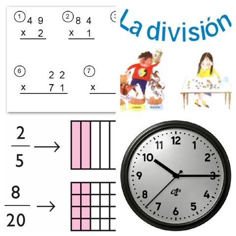Temas de mateticas para niños de 7 años