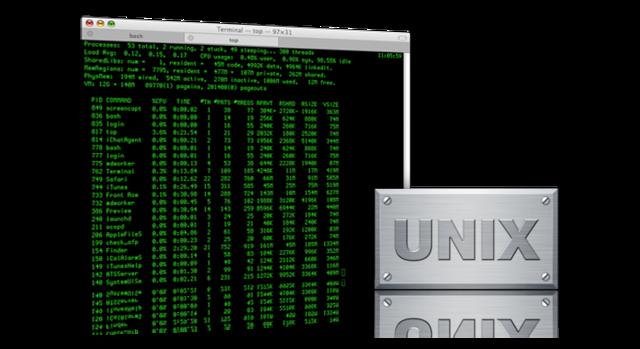 Aparece UNIX