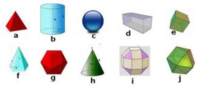 Identifico cuerpos geometricos