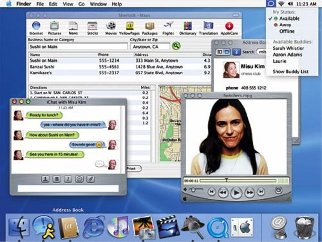 Mac OS X/ Windows XP